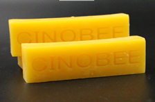 Deep processing and application of beeswax